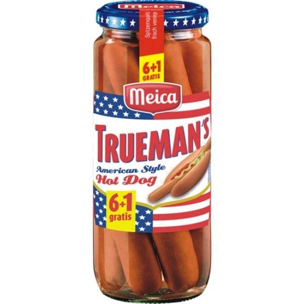 Salsichas Meica Truemans Hot Dog  350gr