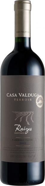 Vinho Casa Valduga Raízes Terroir Cabernet Franc 750ml