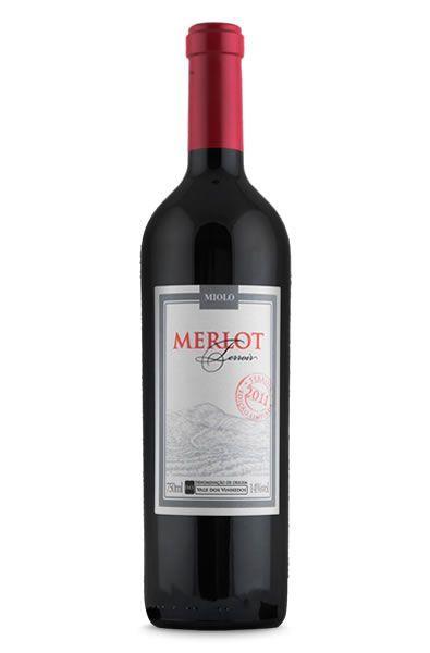 Vinho Miolo Terroir Merlot D.O. 750ml