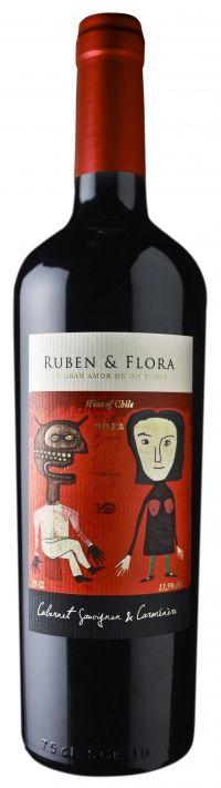 Vinho Tinajas Ruben & Flora Cabernet/Carmenere 750ml