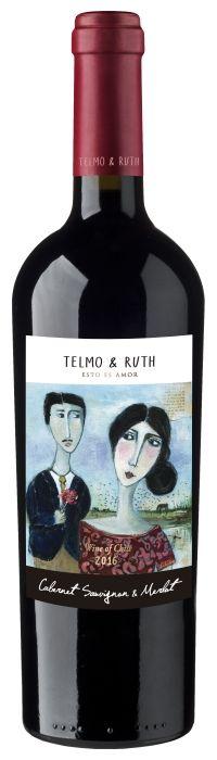 Vinho Tinajas Telmo & Ruth Cabernet/Merlot - 750m