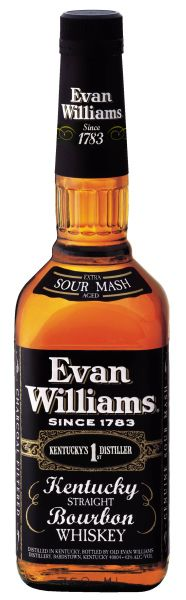 Whiskey Evan Williams Kentucky Straight Bourbon 1 lt