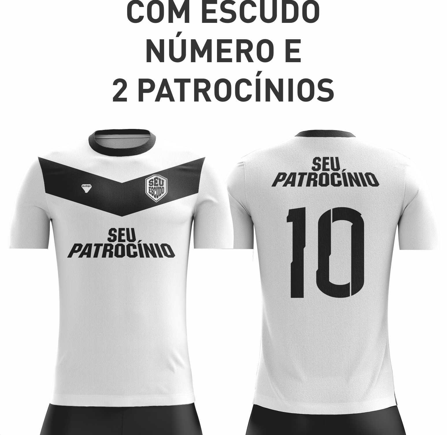Camiseta Dryfit com detalhes costurados - MODELO COSTURADO