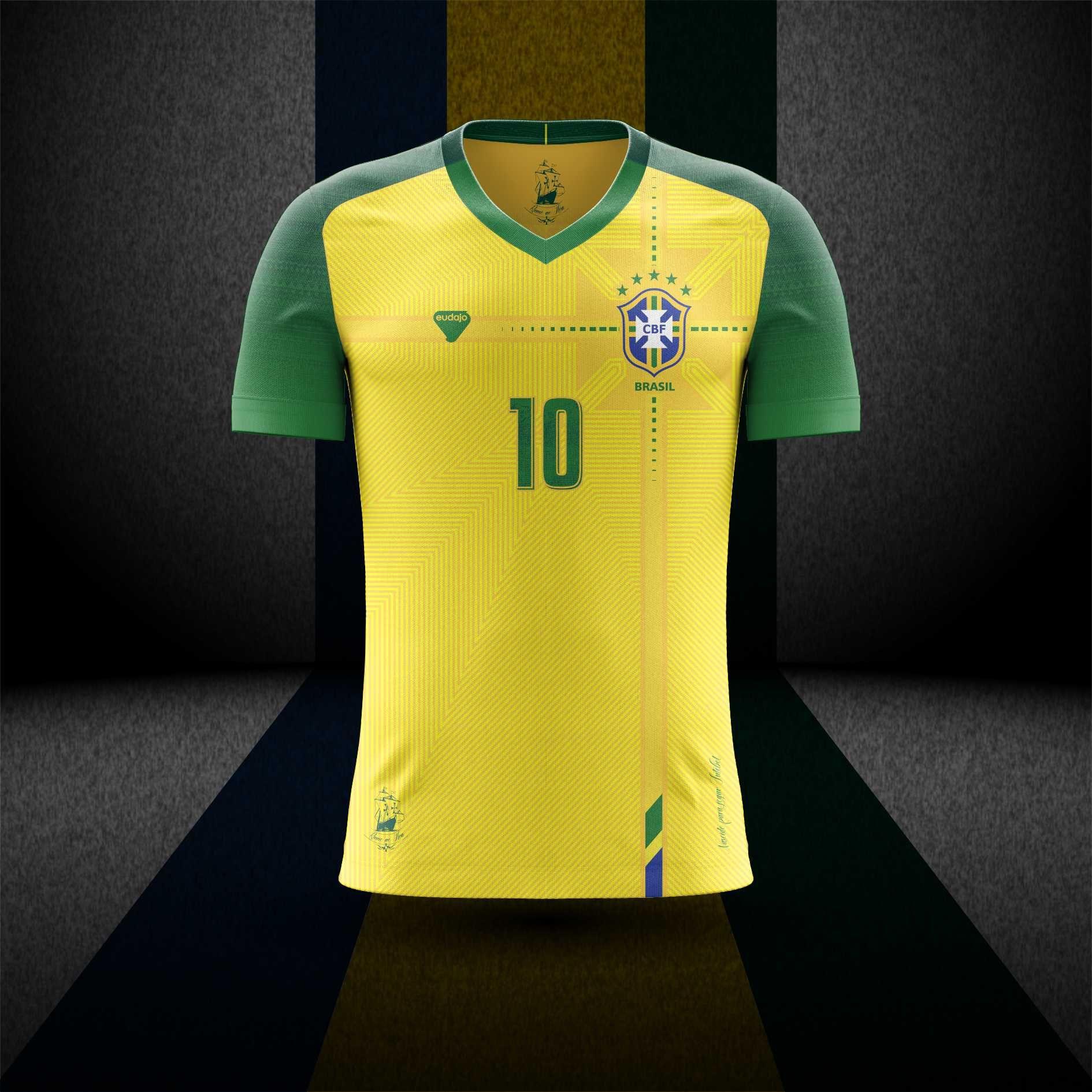 Camiseta Seleção Brasileira - BATALHA DE DESIGNERS