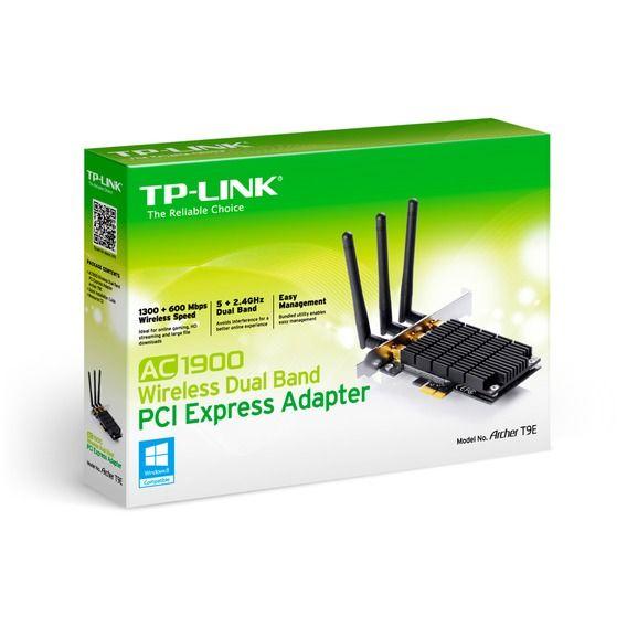 Adaptador Wireless Dual Band AC1900 PCI-Express TP-Link - Archer T9E