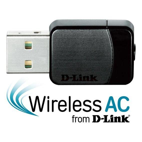 Adaptador USB Wireless AC Dual Band D-Link - DWA-171