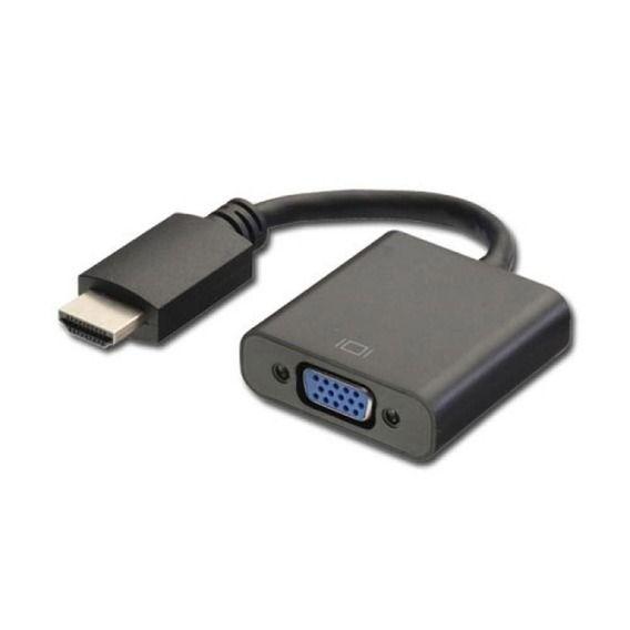 Cabo Adaptador de Vídeo Plus Cable VGA p/ HDMI 20cm - ADP-002