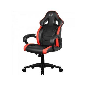 Cadeira AeroCool Gamer AC60C AIR Preta/Vermelha- EN57730