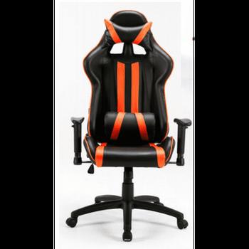 Cadeira BlueCase Gamer Gold Black/Orange - BCH-01OBK