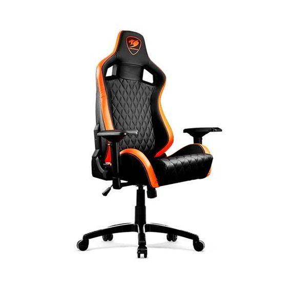 Cadeira Cougar Gamer Armor S B Cadeira Cougar Gamer Armor S Black/Orange