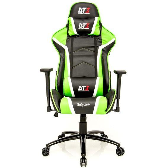 Cadeira DT3 Sports Gaming Modena Green/Black - 10502-8