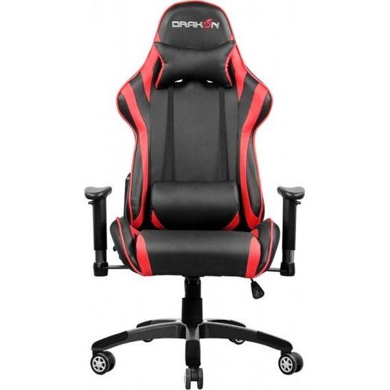 Cadeira Raidmax Gaming Drakon Black/Red - DK-706RD