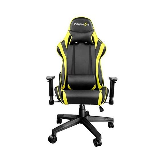 Cadeira Raidmax Gaming Drakon Black/Yellow- DK-706YL