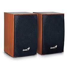 Caixa de Som Genius Wood - SP-HF160