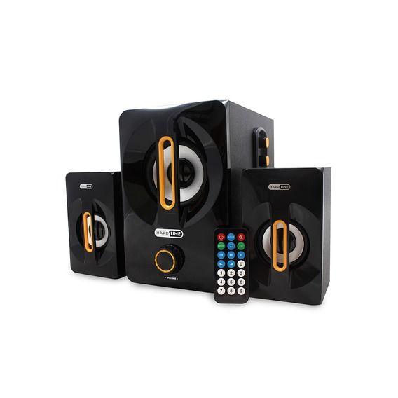 Caixa de Som Hardline Bluetooth - AS-W817B