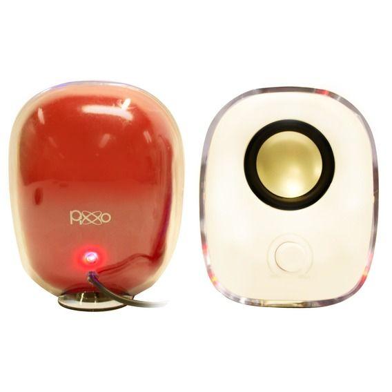 Caixa de Som Pixxo Multimídia SP018U Red - SP-018U-5PSR