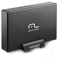 Case / Gaveta Multilaser USB 2.0 Sata 3.5 - GA118