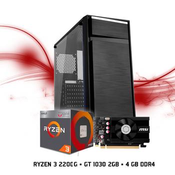 Computador FGTEC Gamer Havoc (Ryzen 3 2200G, GT 1030 2GB, 4GB DDR4, 1TB HD)