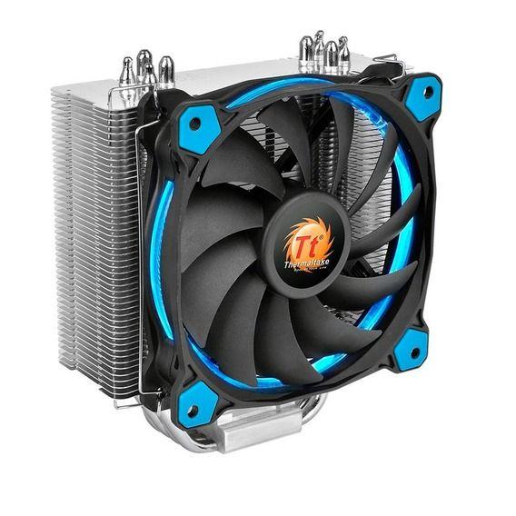 Cooler CPU Thermaltake Riing Silent 12 Blue LED - CL-P022-AL12BU-A