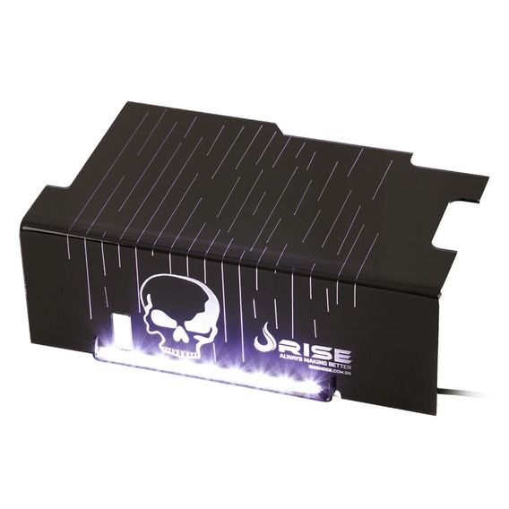 Cover PSU Rise Mode Skull White Led - RM-CP-01-CA