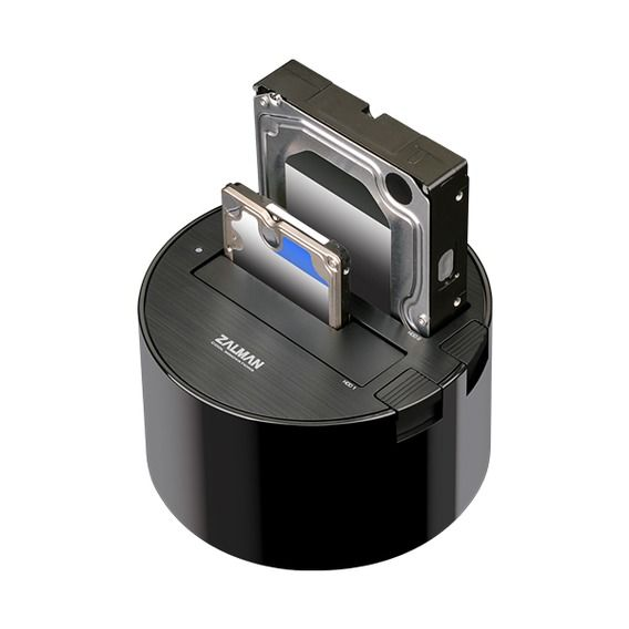 Dock Station Zalman Dual HDD USB 3.0 - ZM-MH200 U3