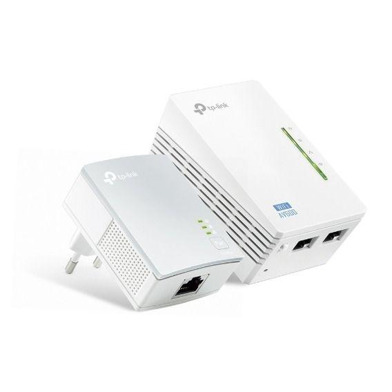 Extensor de Alcance Powerline Wireless AV500 TP-Link - TL-WPA4220KIT