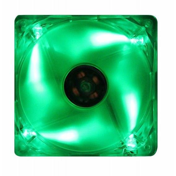 Fan Akasa 12x12cm Green LED - AK-174CG-4GNS