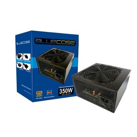 Fonte BlueCase 350W PFC Ativo - BLU350PFC