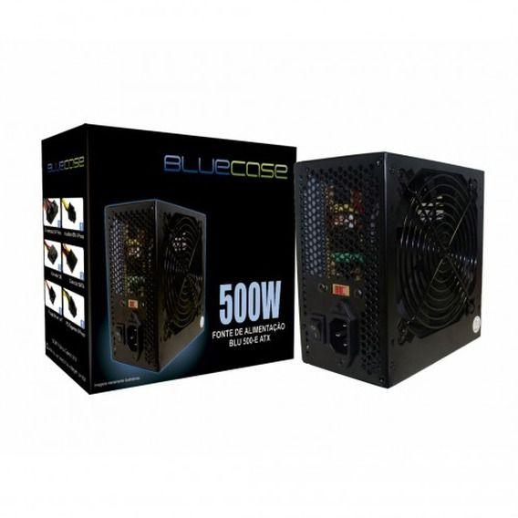 Fonte Bluecase 500W - BLU500ECASE