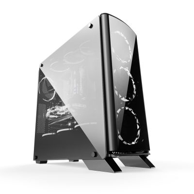 Gabinete Bluecase Gamer BG-007 Window Black - BG007GCASE