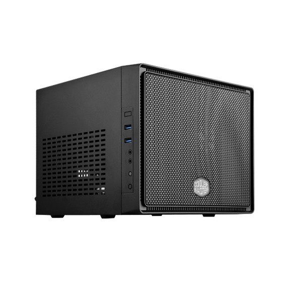 Gabinete Cooler Master Elite 110 Black Mini-ITX - RC-110-KKN2