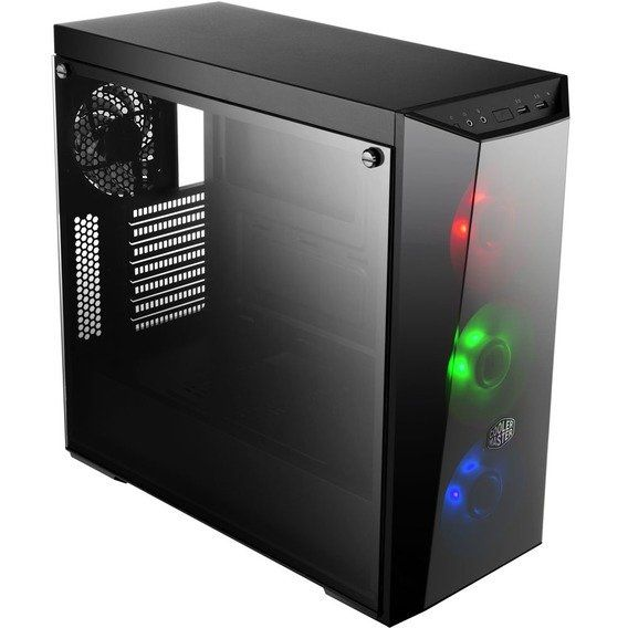 Gabinete Cooler Master Gaming MasterBox Lite 5 Window Black RGB LED - MCW-L5S3-KGNN-02