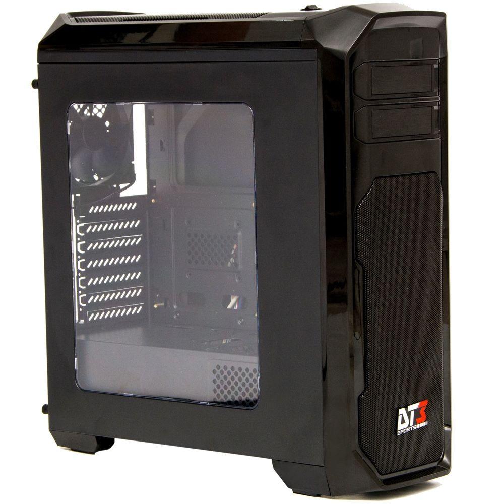 Gabinete DT3 Sports Gamer Triton Window Black - 10379-0