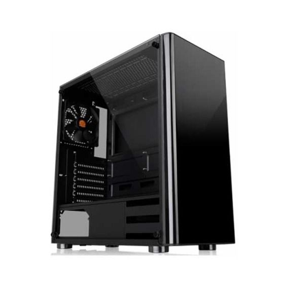 Gabinete Thermaltake Gamer V200 TG Window Black - CA-1K8-00M1WN-00