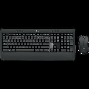 Kit Teclado e Mouse Logitech Wireless MK540 Advanced - 920-008674