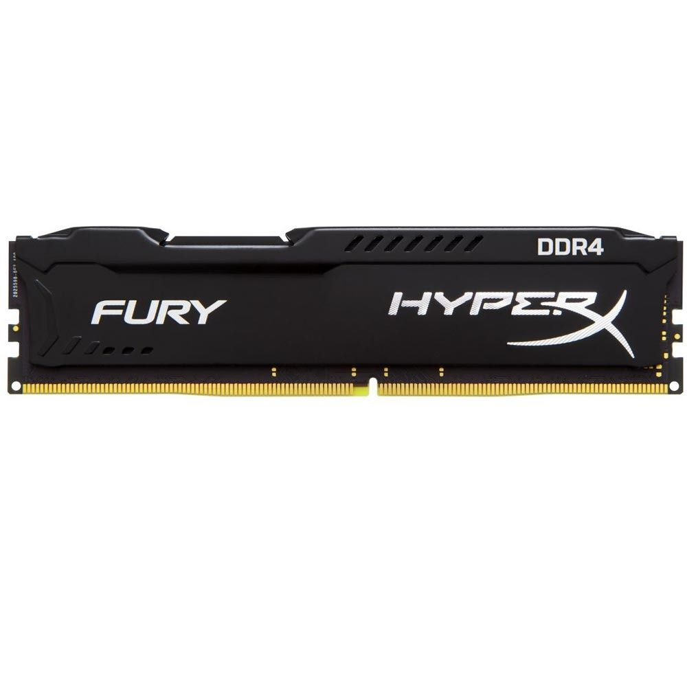 Memória Kingston HyperX Fury Black Series 16GB DDR4 2400MHz (1x16GB) - HX424C15FB/16