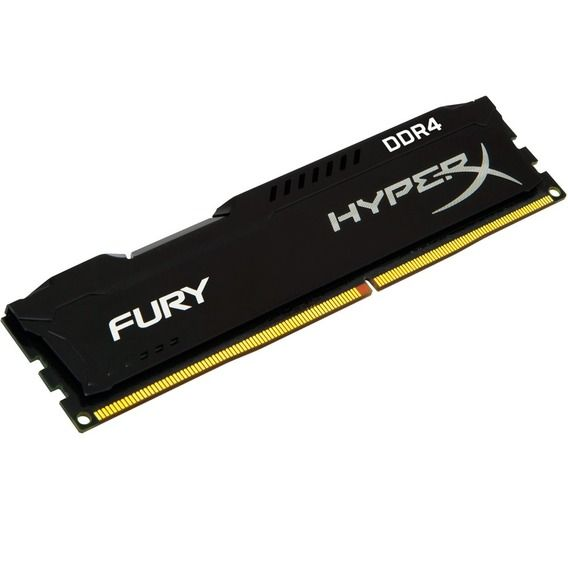 Memória Kingston HyperX Fury Black Series 4GB DDR4 2400MHz (1x4GB) - HX424C15FB/4