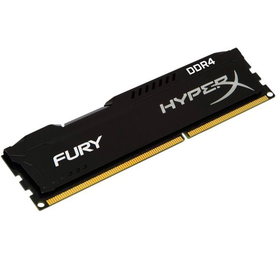 Memória Kingston HyperX Fury Black Series 8GB DDR4 2133MHz (1x8GB) - HX421C14FB2/8