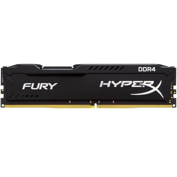 Memória Kingston HyperX Fury Black Series 8GB DDR4 2400MHz (1x8GB) - HX424C15FB2/8
