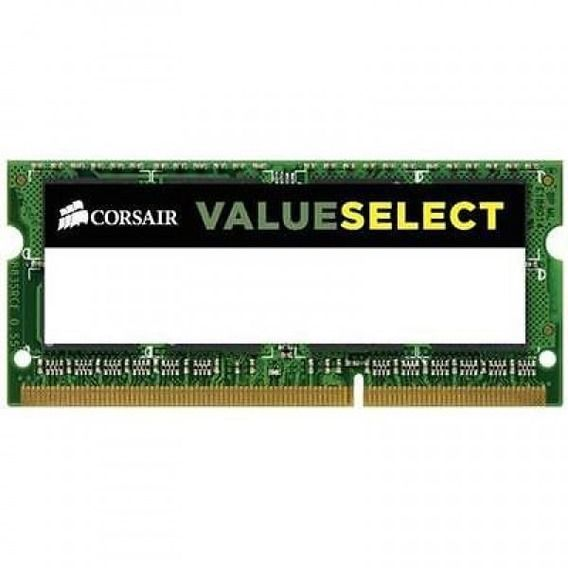 Memória Notebook Corsair Value Select 8GB DDR3 1600Mhz (1x8GB) - CMSO8GX3M1A1600C11