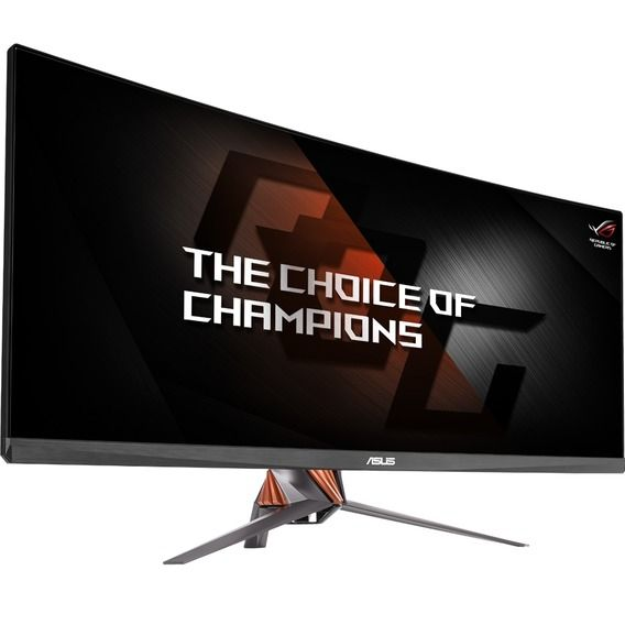 Monitor Asus LCD 34' 144Hz UltraWide QHD G-Sync ROG Swift Gaming Curvo - PG348Q