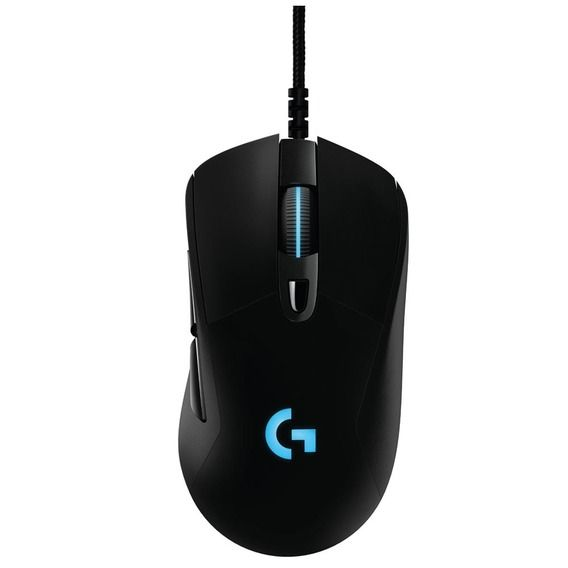 Mouse Logitech Gamer G403 Prodigy RGB LED - 910-004823