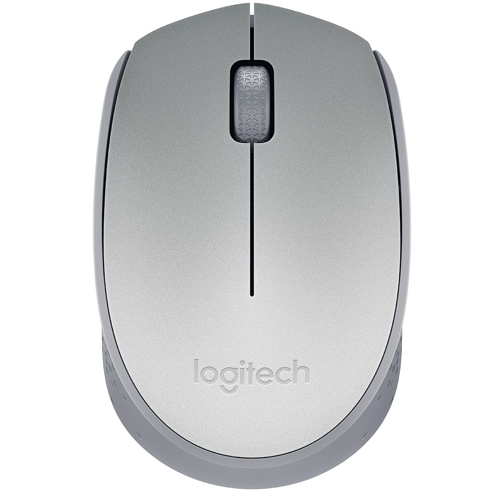 Mouse Logitech M170 Wireless Silver - 910-004425
