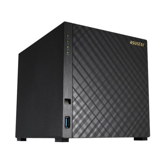 NAS Asustor Storage Marvell Armada 3851 1.0 GHz 512MB DDR3 USB 3.0 - AS1004T