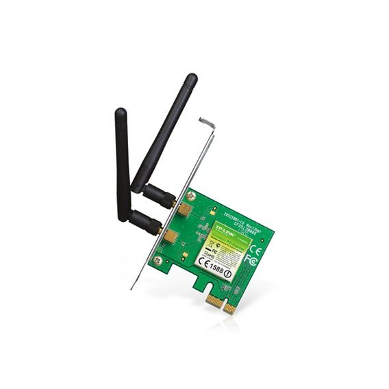 Adaptador Wireless N PCI-Express TP-Link - TL-WN881ND Ver:1.0