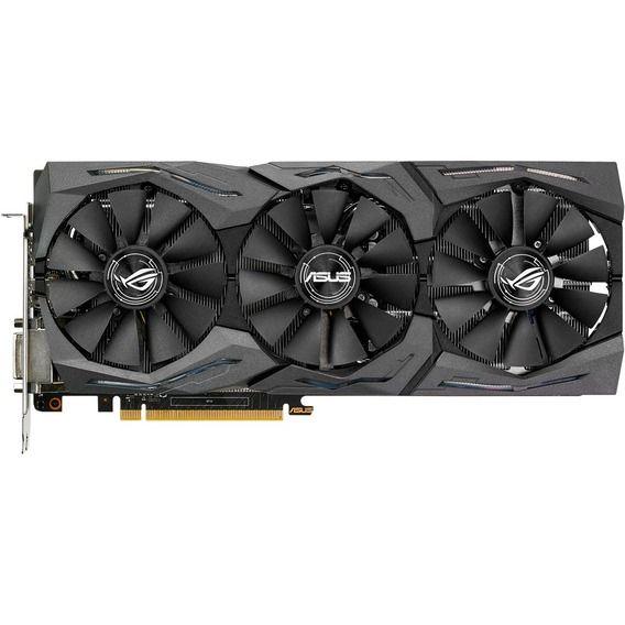 Placa de Vídeo Asus GeForce GTX 1070 8GB GDDR5 ROG Strix Aura - STRIX-GTX1070-O8G-GAMING