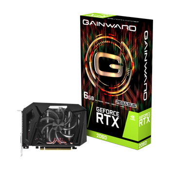 Placa de Vídeo Gainward GeForce RTX 2060 6GB GDDR6 - NE62060018J9-161F