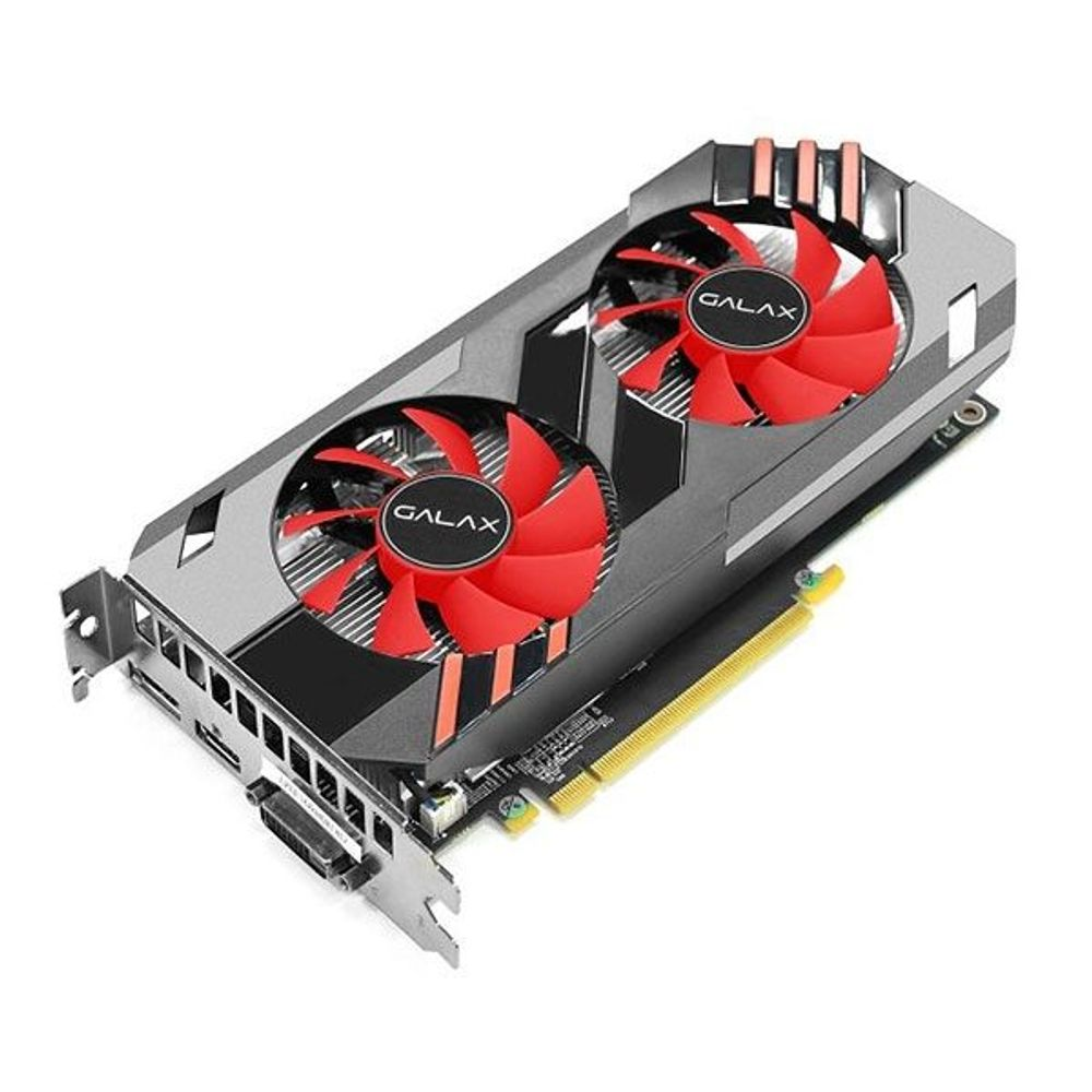 Placa de Vídeo Galax GeForce GTX1060 6GB GDDR5 OC - 60NRH7DSN5E6
