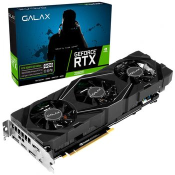 Placa de Vídeo Galax GeForce RTX 2080 Ti 11GB SG Edition - 28IULBUCT2GC