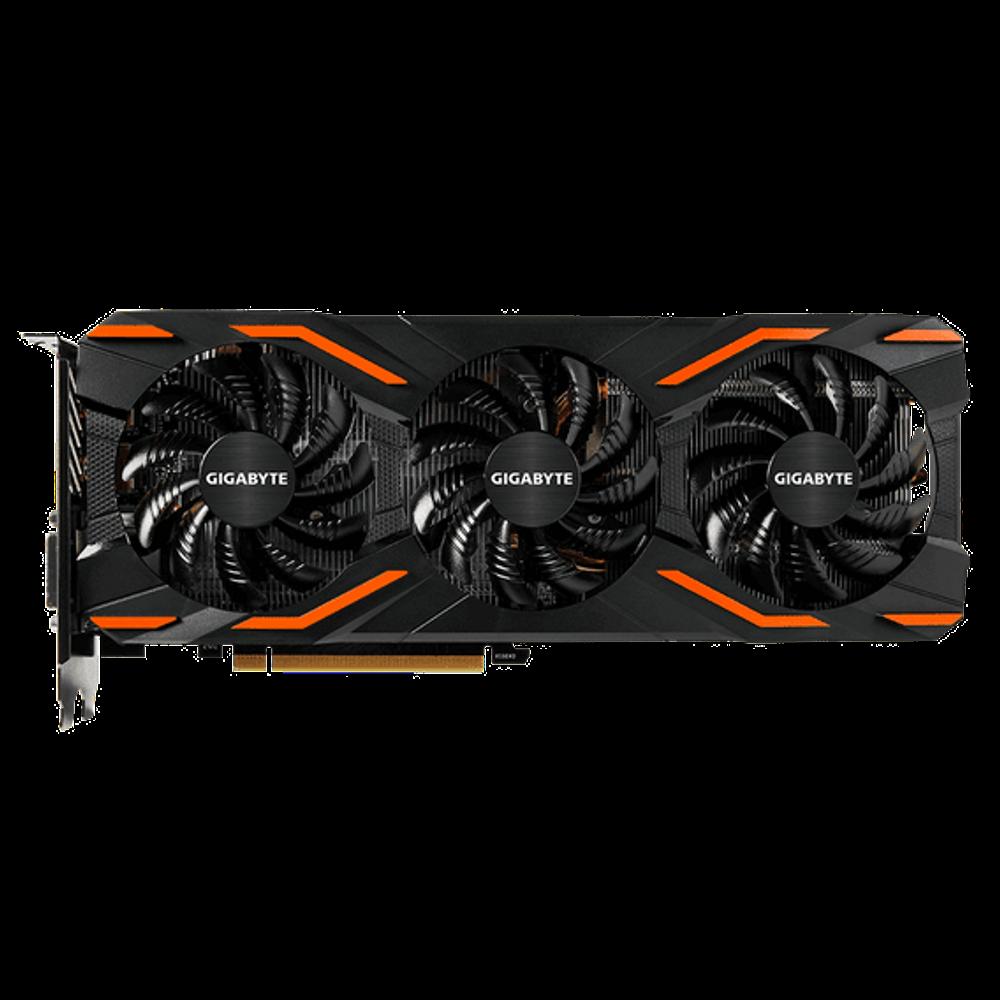 Placa de Vídeo Gigabyte GeForce GTX 1080 8GB GDDR5X Windforce OC - GV-N1080WF3OC-8G